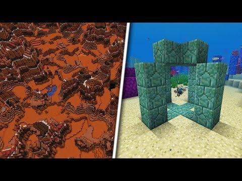 UN NOU TIP DE GENERARE A HARTII, BIOME MUTANT?! - Minecraft 1.13 (Snapshot 18w16a)