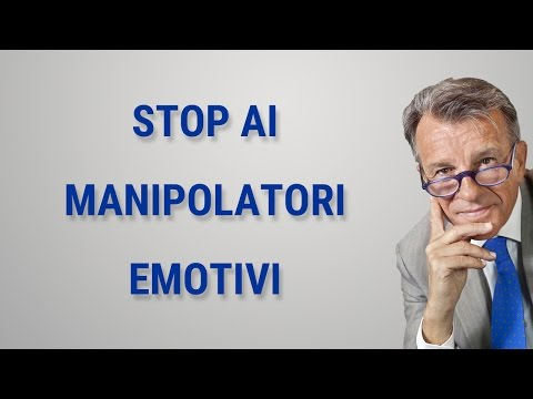 Stop ai manipolatori emotivi!