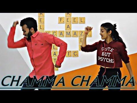 Chamma Chamma | Dance Video | Elli AvrRam | Tejas Parekh Ft. Rashmi Gupta | Thegoldenfeet