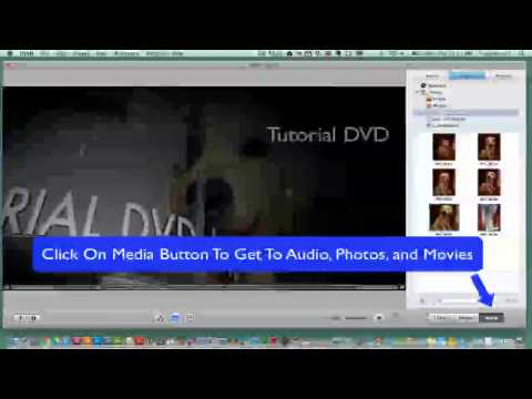 IDVD Tutorial - Basic Rundown Of Tools And Features (Getting Started)