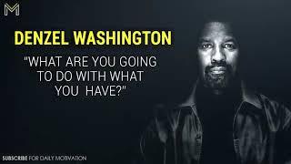 Denzel Washington's Life Advice Will Change Your Future MUST WATCH Motivational Speech 2018