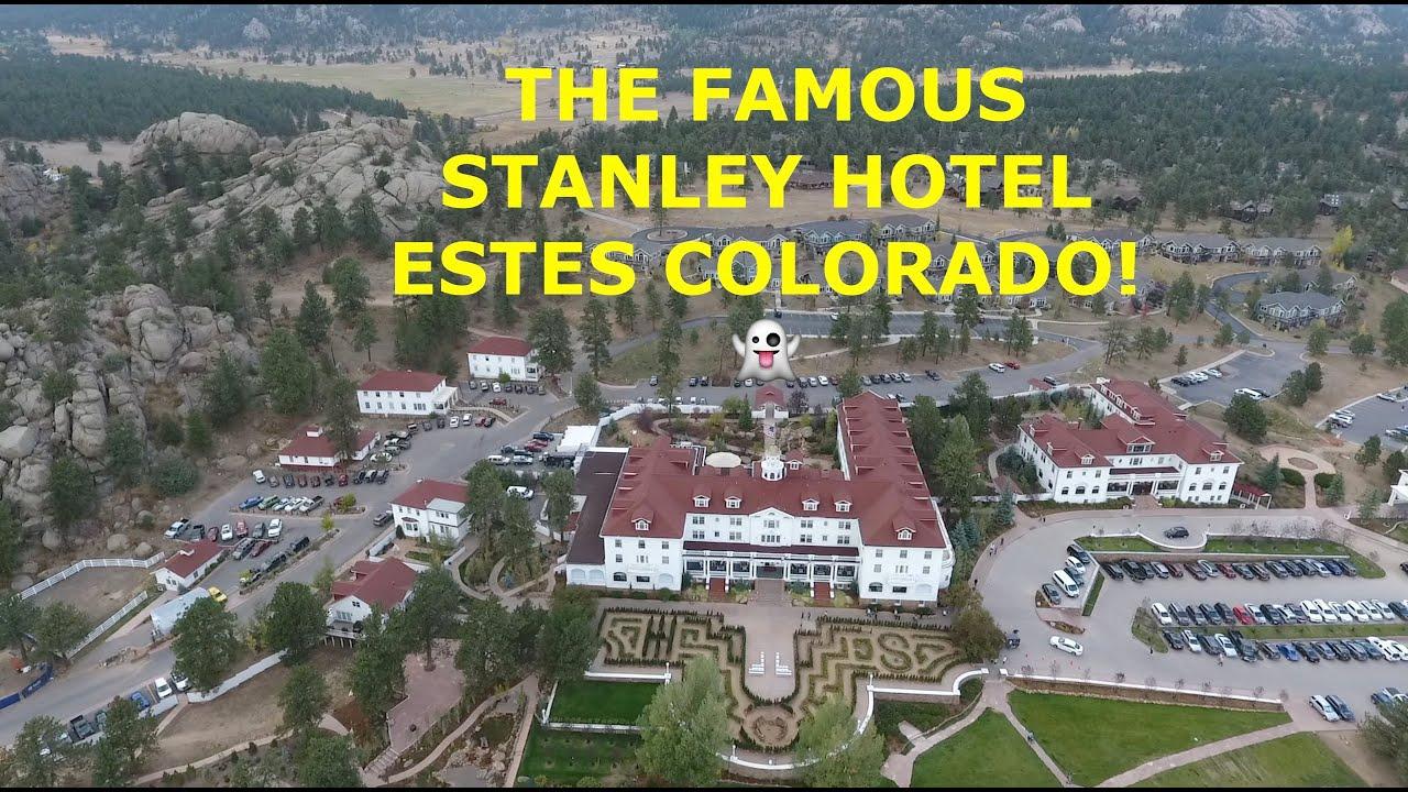 Stanley Hotel Aerial Views Colorado