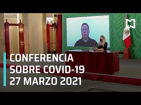 Informe diario Covid-19 En Vivo - 27 de Marzo 2021