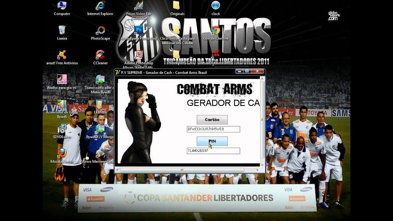 gerador de cash combat arms 2012