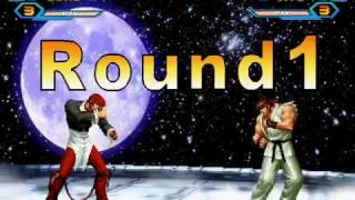 King Of Fighters Wing 1.85 Iori Combo