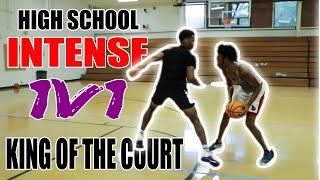 High School 1v1 Basketball - KING OF THE COURT