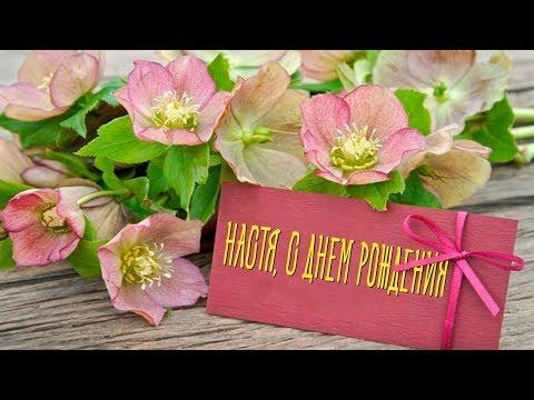 Анастасия, с Днем Рождения! Красивое Видео Поздравления с Днем Рождения для Анастасии