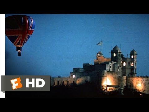 Octopussy (9/10) Movie CLIP - Hot Air Balloon Assault (1983) HD