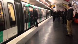Chelsea fans prevent black man boarding Paris metro train | Guardian Wires thumbnail