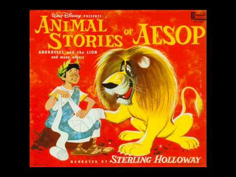 Animal Stories Of Aesop (Disneyland DQ-1221) - Sterling Holloway