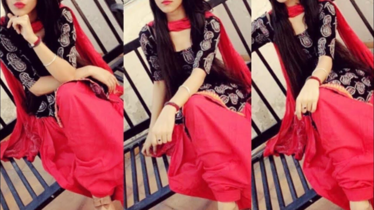56c30e0421 Daily wear simple Punjabi suit design ideas/Cotton Salwar kameez for college  girls