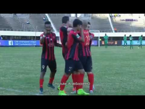 CAPS United vs USM Alger 2-1