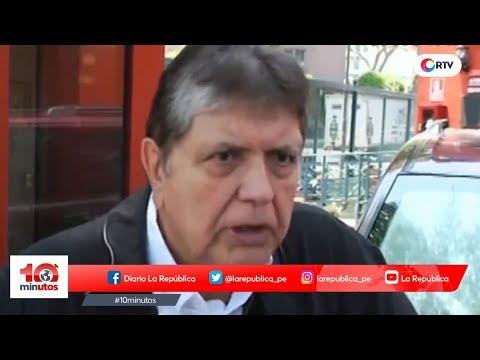"""Alan García: """"El fiscal miente"""" - 10 minutos Edición Matinal"""
