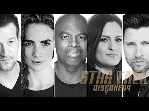 ducing the Klingons: Mitchell, Obi, Chieffo, Runyan and McConnell  Star Trek Discovery
