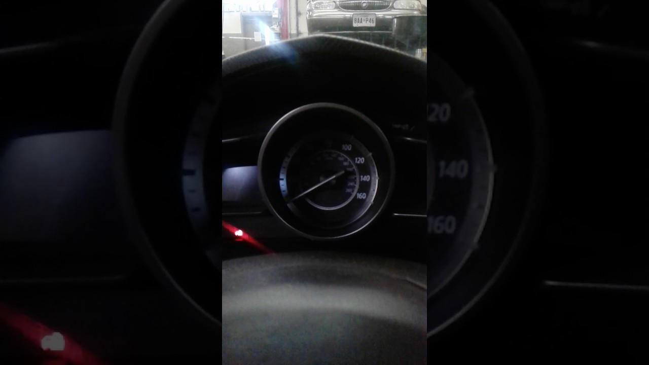 Reset oil light on 2014 Mazda 3 push start