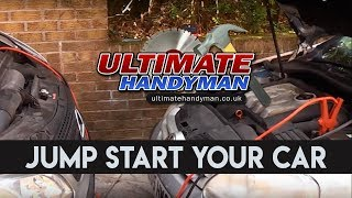 Gambar cover How to jump start a car with a battery jump starter or jump leads