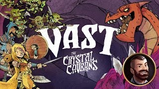 Vast: The Crystal Caverns - Board Game Spotlight - Overview