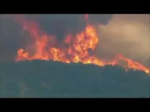 LIVE: HORRIFIC! Bogart Fire Cherry Valley, California