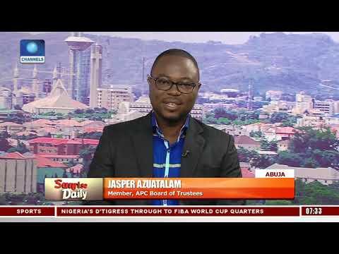 'Why APC National Leadership Adopted Multi-mode Primaries', Azuatalam Explains Pt.1 |Sunrise Daily|