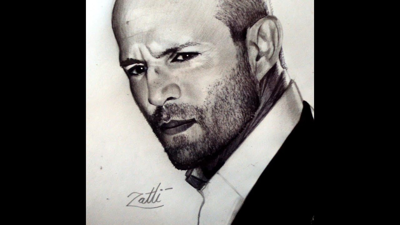 JASON STATHAM DRAWING ...
