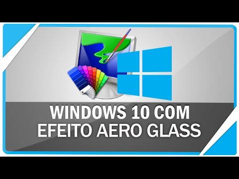 Como ativar o aero glass no Windows 10 ( Sem marca d' agua e sem CMD)
