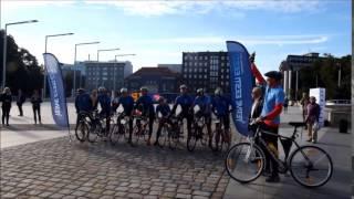 Spordinädal 2015 - Lionsite Tallinn-Riia retke start.  Starter Mart Poom