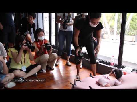 Ana Brandt Teaching Newborn Photography in Shanghai China