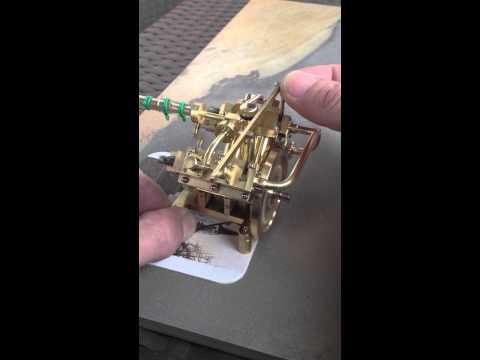 Project V4, 2,5ccm Supermicro model marine steam engine.