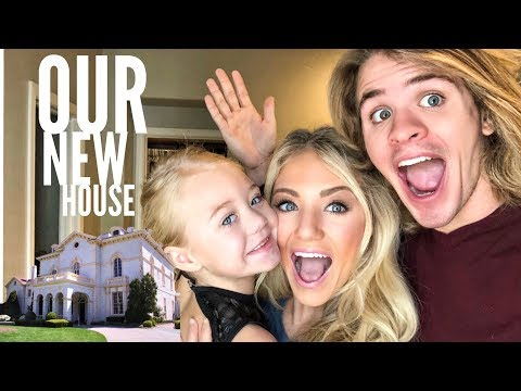 ITS FINALLY HERE! OUR NEW HOUSE TOUR!!!