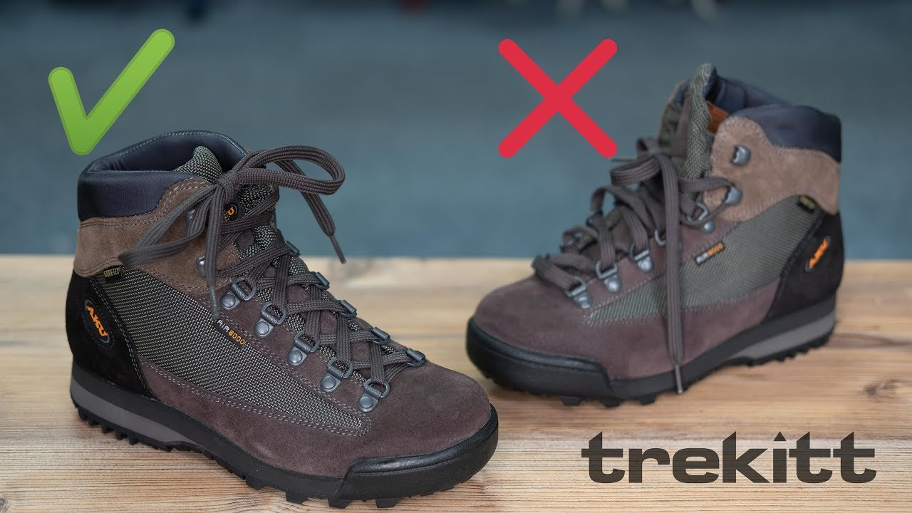 How to Correctly Lace Walking Boots