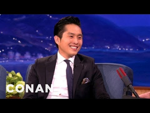 Justin Chon Is Catnip To