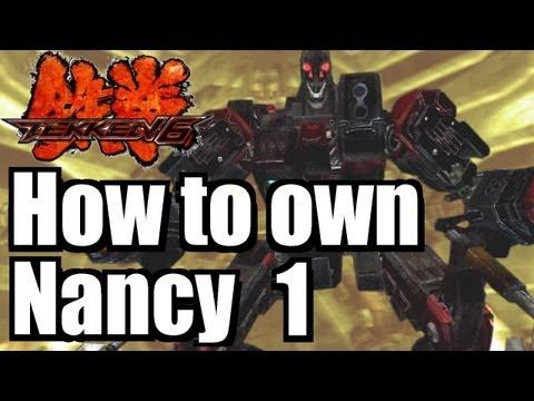 Tekken 6 - How to own Nancy 1/5 (the LOL...