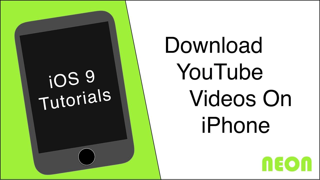 Download youtube videos on iphone no jailbreak required youtube download youtube videos on iphone no jailbreak required ccuart Choice Image