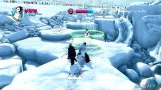 Happy Feet Two: The Videogame Gameplay Xbox360 HD (GodGames Preview)