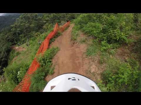 downhill panama, pista el rosal - segundo hit