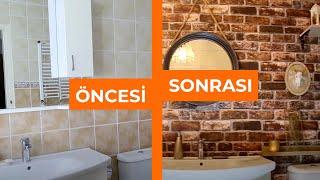 Banyo Yenileme Fikirleri | Dekorasyon Fikirleri  | Seray Kutsal