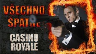 Všechno špatné ve filmu Casino Royale
