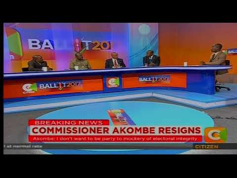 Cheche: Commissioner Akombe Resigns[part 2]