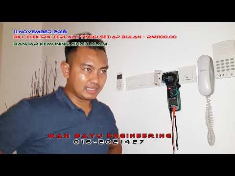PAKAR ELEKTRIK - Bill Elektrik Tinggi RM1,100 Setiap Bulan