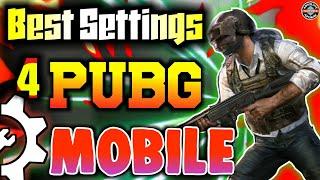 Pubg mobile best settings | Best sensitivity setting for pubg game | Pubg mobile beginners guide