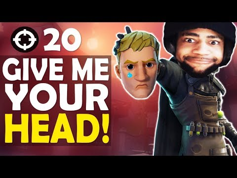 GIVE ME YOUR HEAD!  |  DAEQUAN SUS?| 20 KILL FUNNY GAME - (Fortnite Battle Royale)