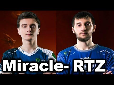 MIRACLE- vs ARTEEZY - 1v1 SOLO MID - DAC DOTA 2