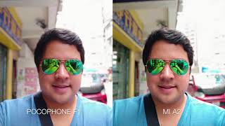 Pocophone F1 vs Xiaomi Mi A2 - Camera Shootout Review!
