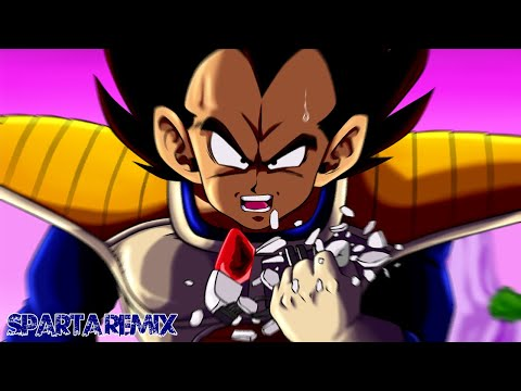 (B-Day Special) (Dragon Ball Z) Vegeta: It's over 9000! [Sparta Extended Remix]