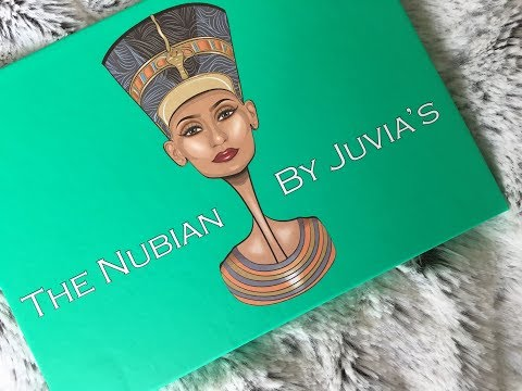 Juvia's Place Nubian 1 Palette / Swatches, Tutorial & First Impressions