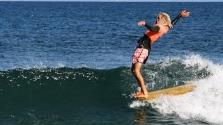 Malibu's Call to the Wall 2014 Longboarding Surfrider Beach Thumbnail