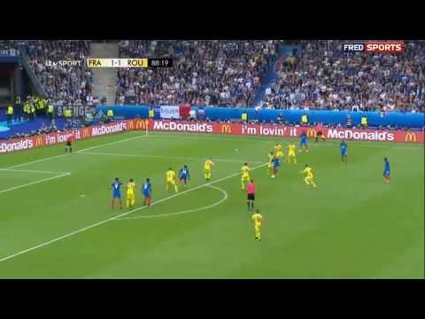 Dimitri Payet sensational goal vs Romania!!! EC