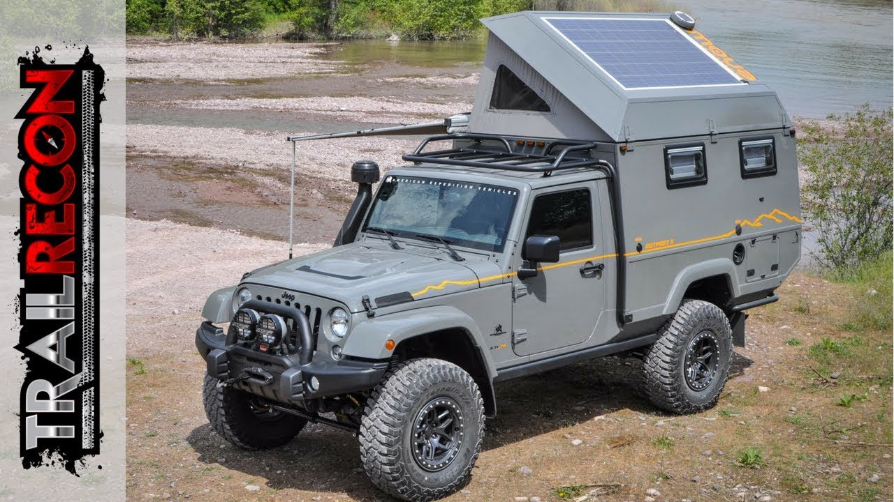 d0aece7f Outpost II - AEV Jeep Wrangler - YouTube
