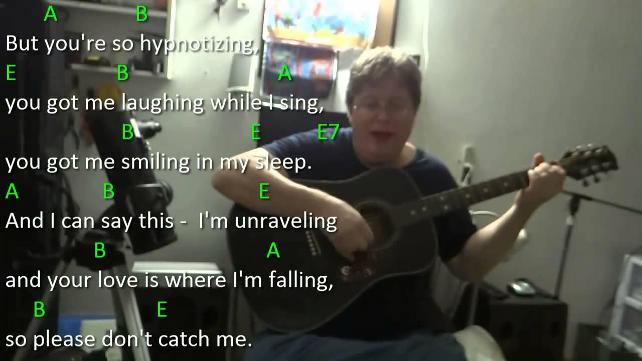 Catch Me Demi Lovato Guitar Chord Practice Key E Major Youtube