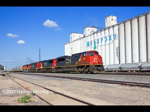 Texas Panhandle Railroad Action July 2017